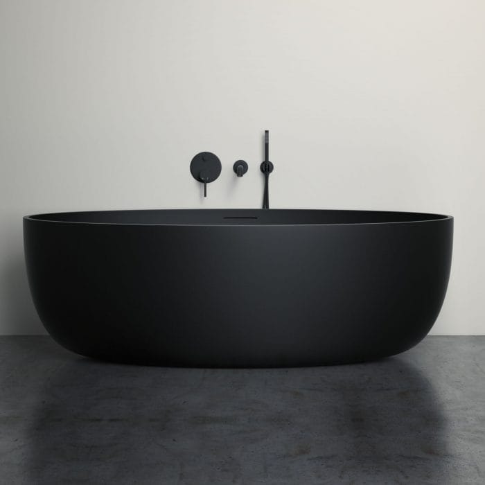 New Matte Black Bathroom Products