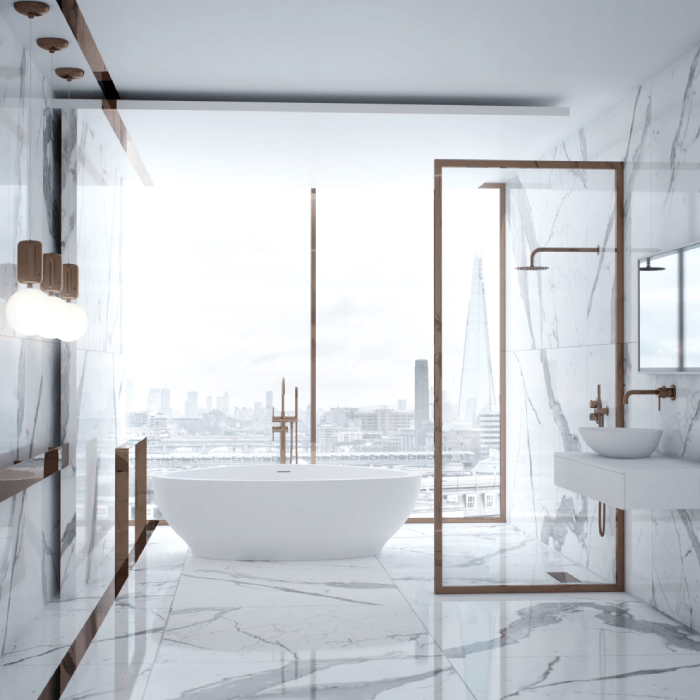 Rose Gold Bathroom Ideas Lusso Stone