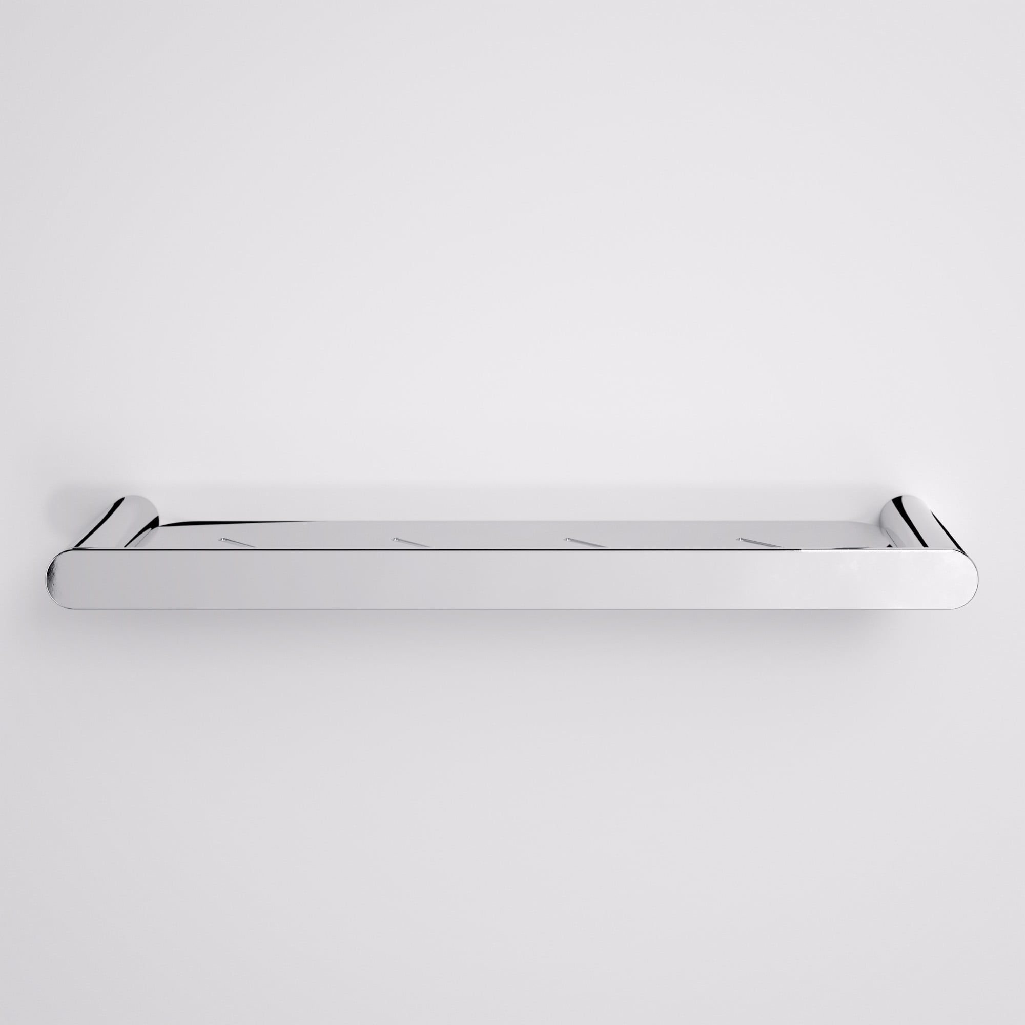 Lusso Luxe Bathroom Shower Shelf Chrome 430 | Accessories