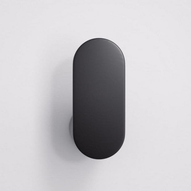 Lusso Luxe Robe Towel Hook Matte Black