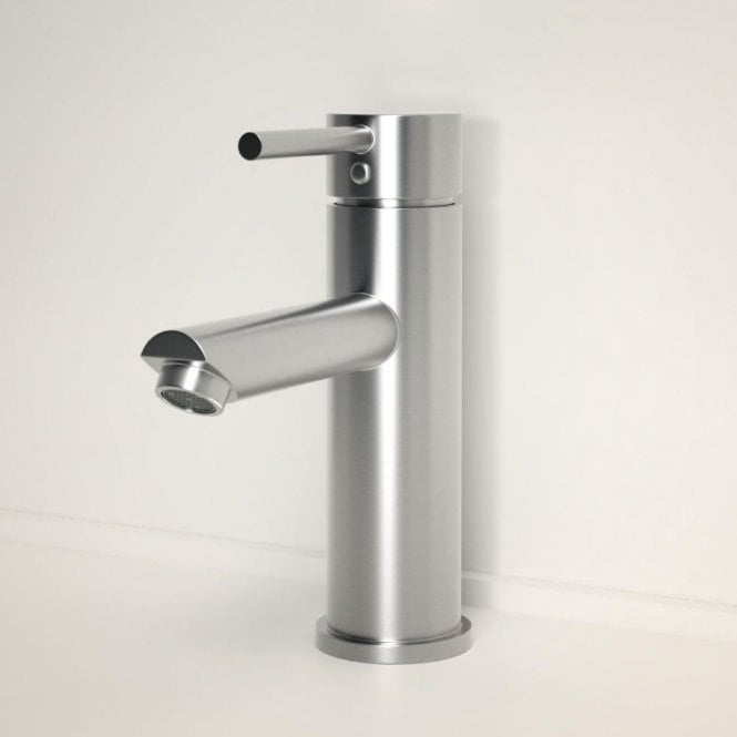 Lusso Luxe Series Basin Mixer Tap Brushed Stainless
