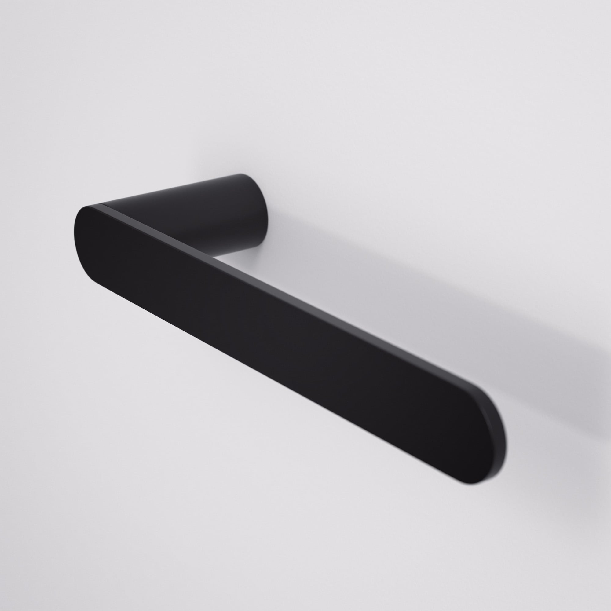 Lusso luxe towel bar matte black 220