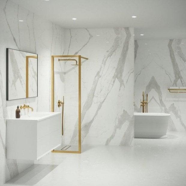 Gold Bathroom Taps Showers Accessories Gold Bathroom