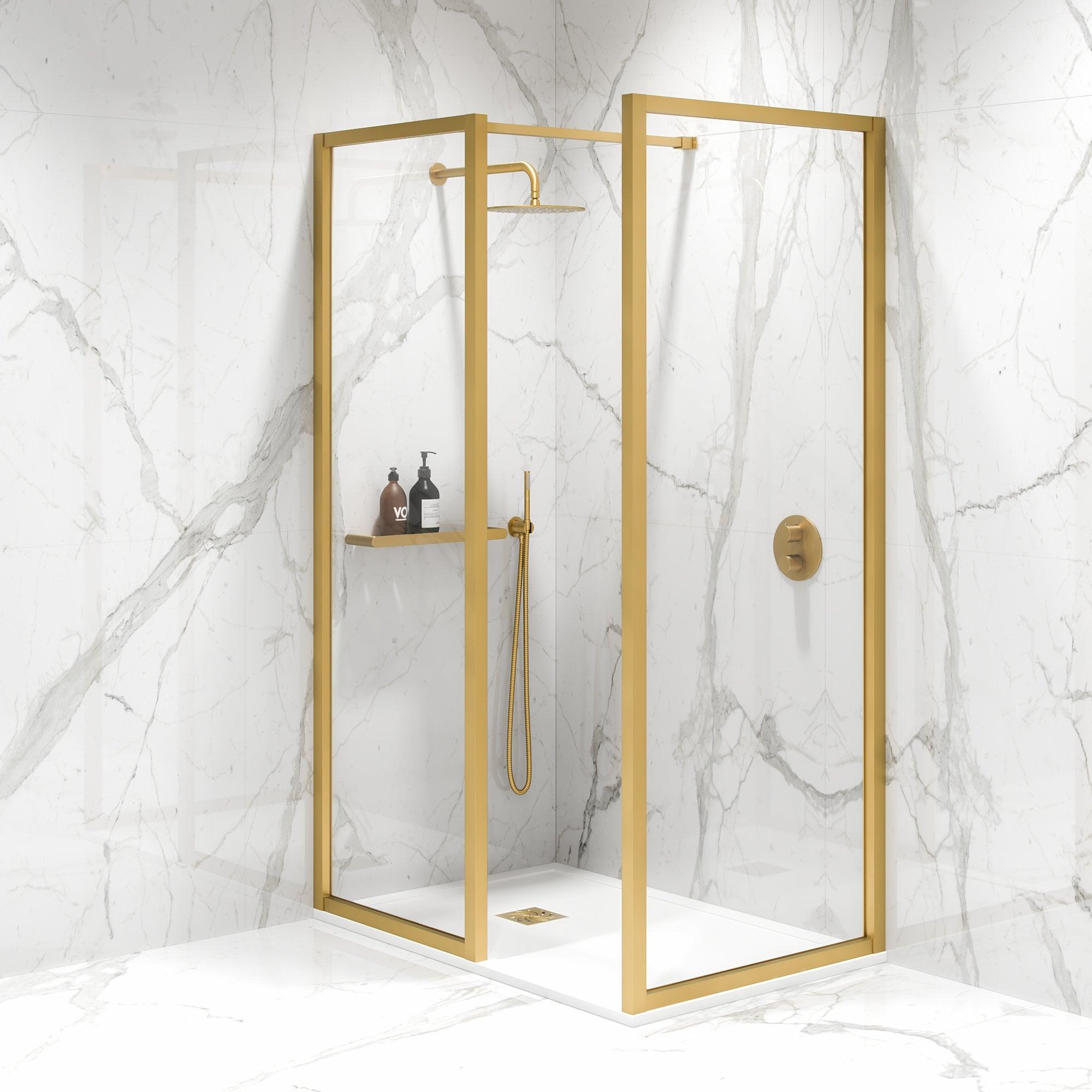 Lusso Mayfair Complete Walk In Shower Enclosure Kit B
