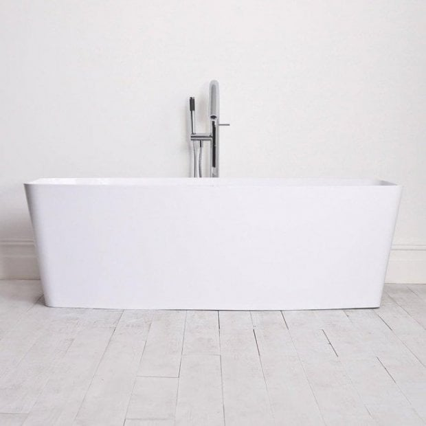 Lusso Stone Albert Stone Resin Solid Surface Freestanding Bath 1700