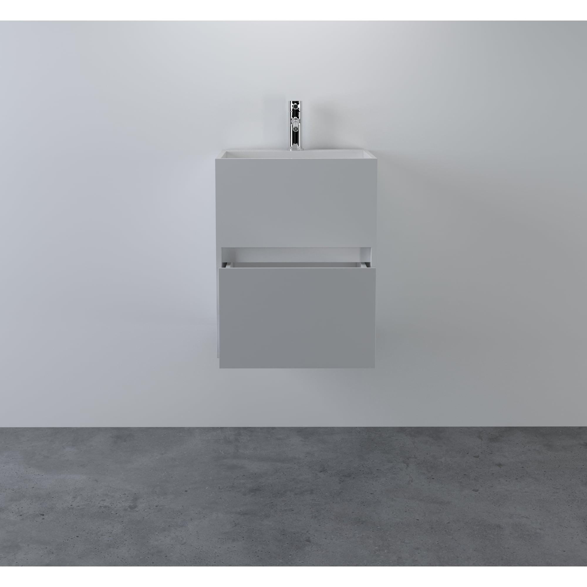 Bathroom Vanity Units With Sink. Lusso Stone Ethos Resin Basin Cabinet Vanity Unit 400