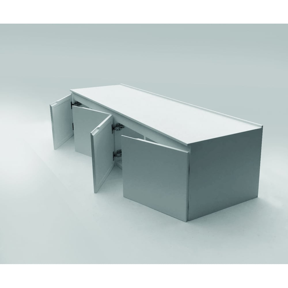 Lusso stone luxor bespoke storage cabinet 1500 width x 400 for Bathroom cabinet 600 x 400