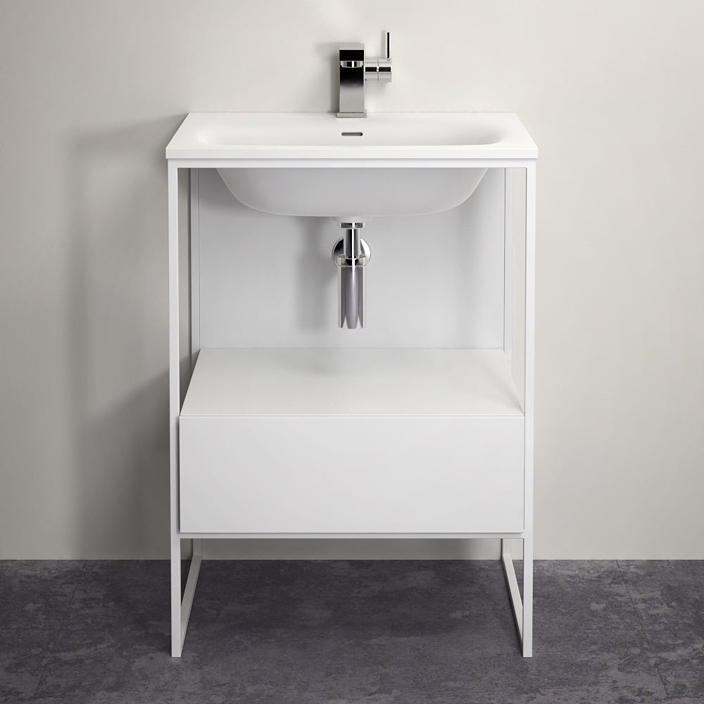 Lusso Stone Vanity Unit Luxurious Bathroom Vanity Units
