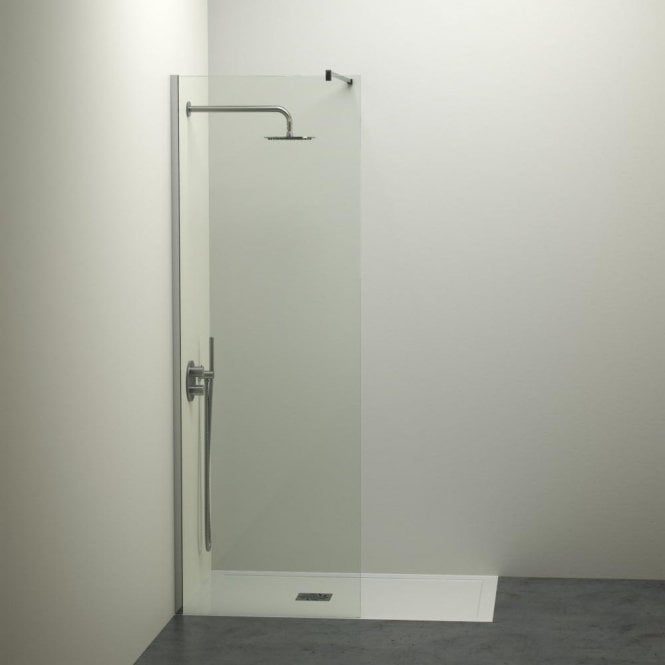 LUSSO STONE MODERN COMPLETE WALK IN SHOWER ENCLOSURE - KIT A (ALL SIZES)