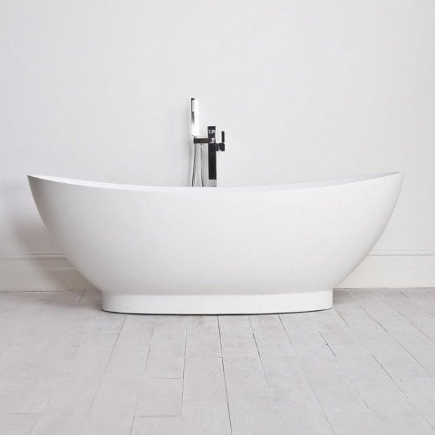 Lusso Stone Oasis Stone Resin Solid Surface Freestanding Bath 1795