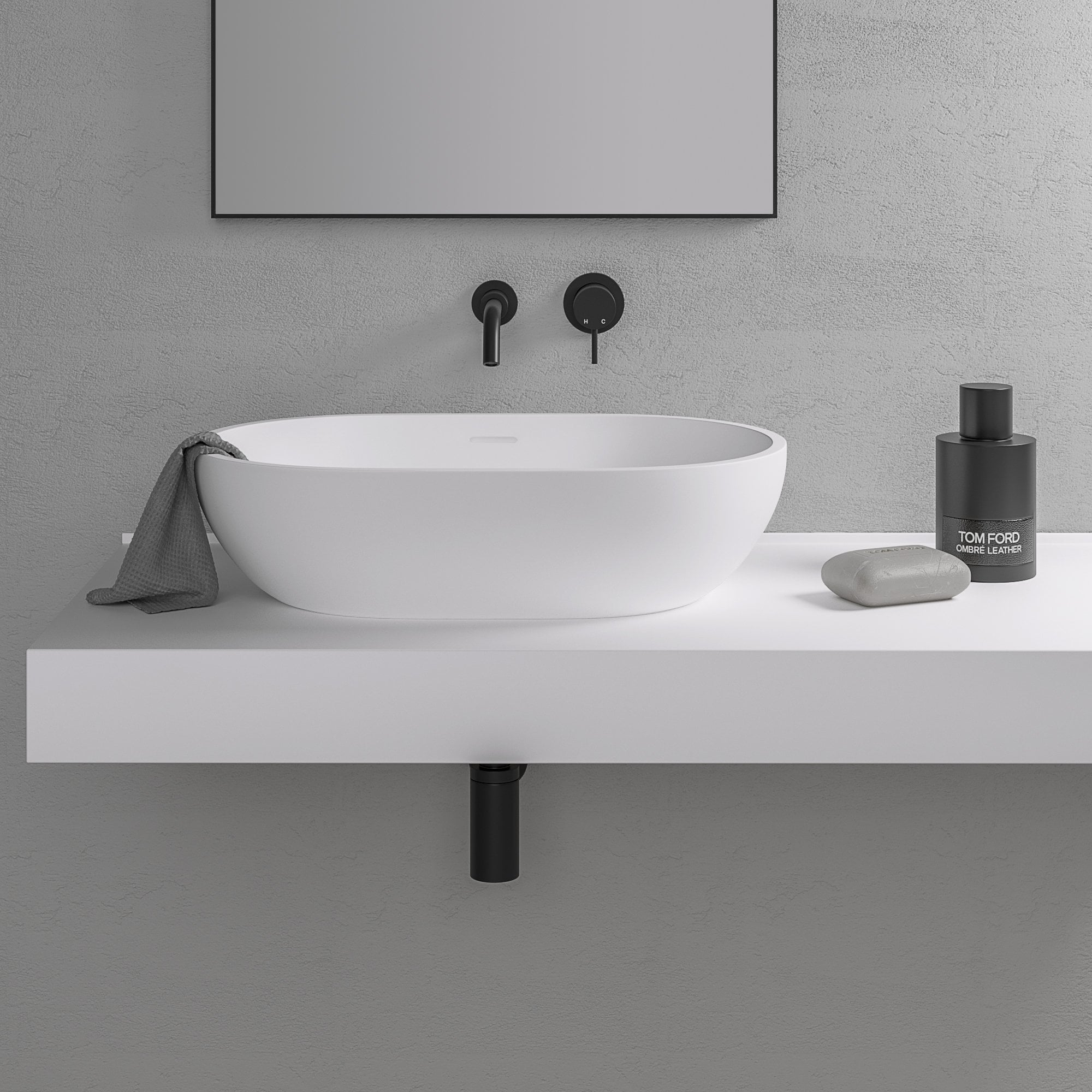 Fantastic Lusso Stone Picasso Stone Resin Counter Top Basin 580 Download Free Architecture Designs Viewormadebymaigaardcom