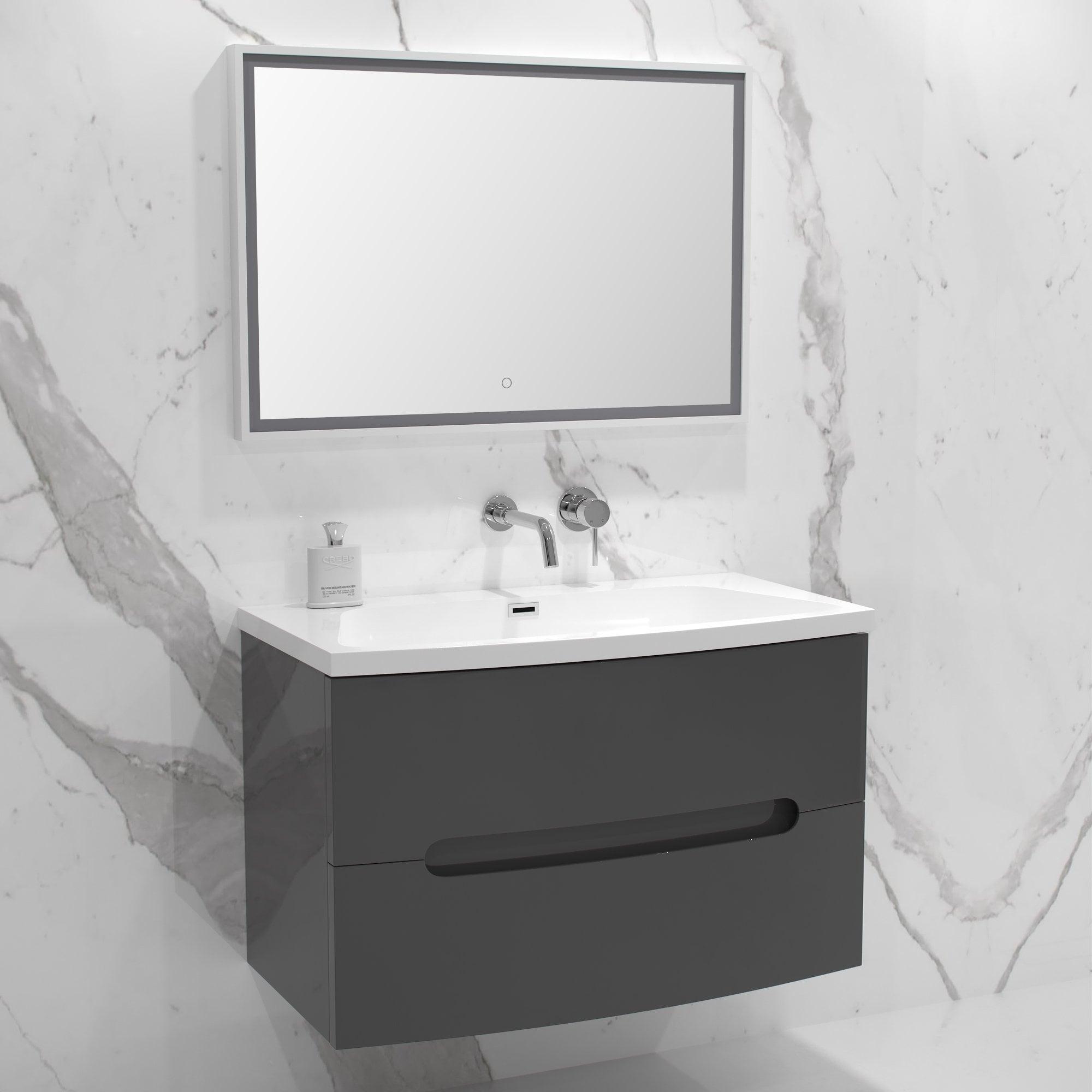 Lusso Stone Puro Bathroom Vanity Unit