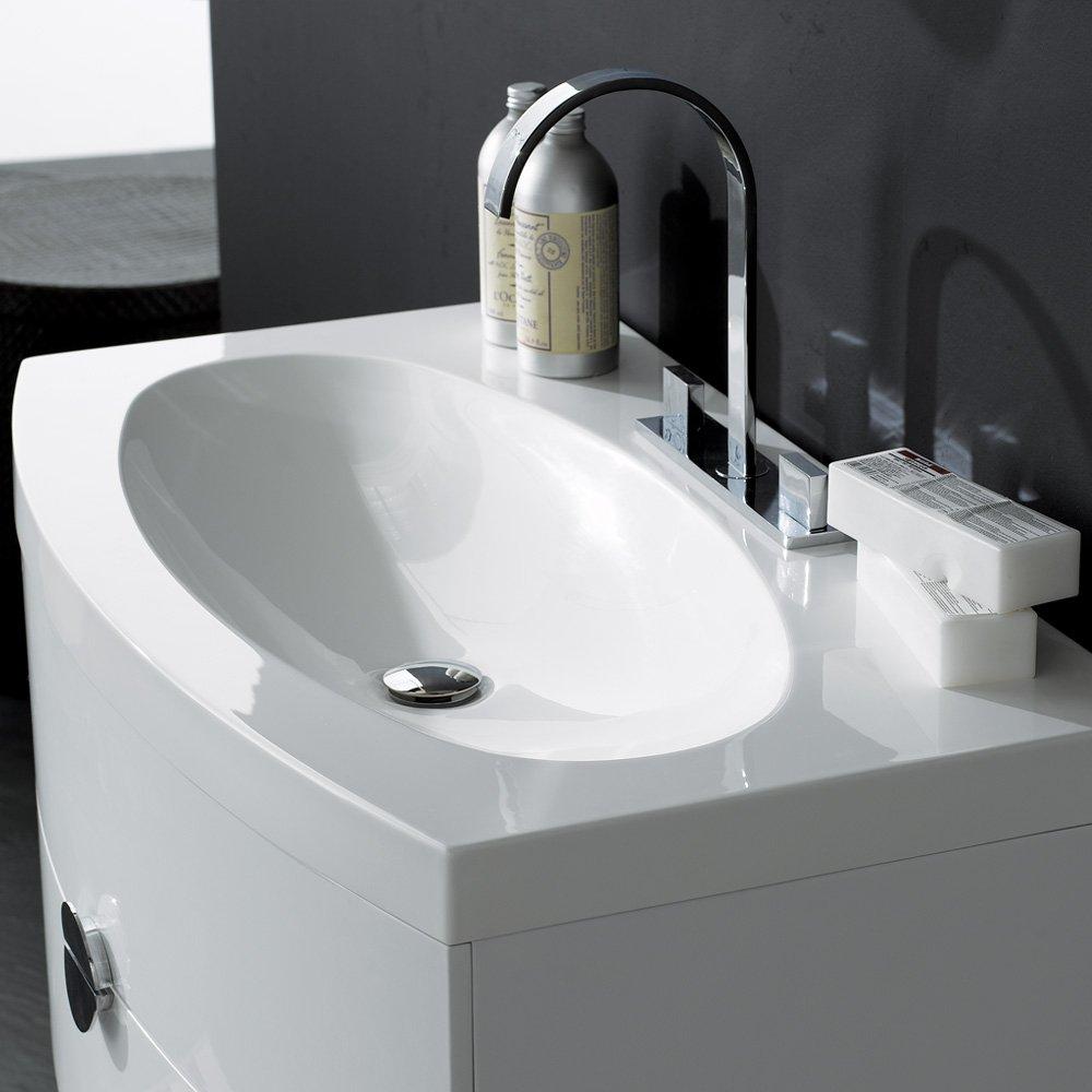 Combination designer modular bathroom furniture collection mab40 4 - Designer Bathroom Vanity Units Molly 900mm Floorstanding Vanity Unit Basin Chestnut Lusso Stone Vanessa Wall Mounted