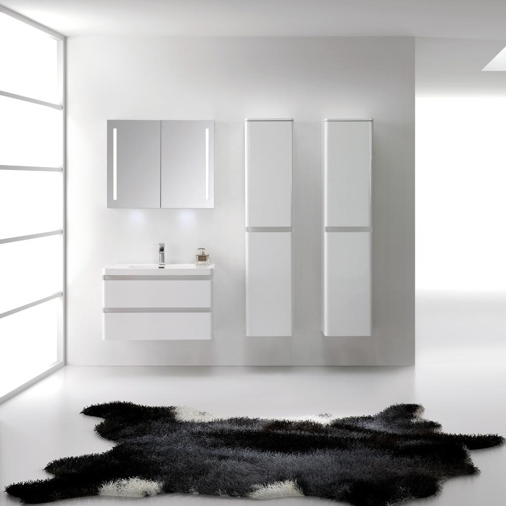 Lusso Stone Venetian Wall Mounted Designer Bathroom Vanity Unit 900 ...