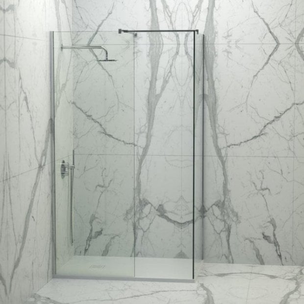 Lusso Stone Vigo Complete Walk In Shower Enclosure - Kit B (ALL SIZES)