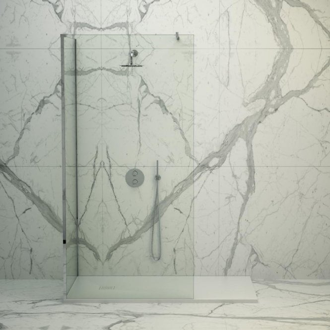 Lusso Stone Vigo Complete Walk In Shower Enclosure - Kit C (ALL SIZES)