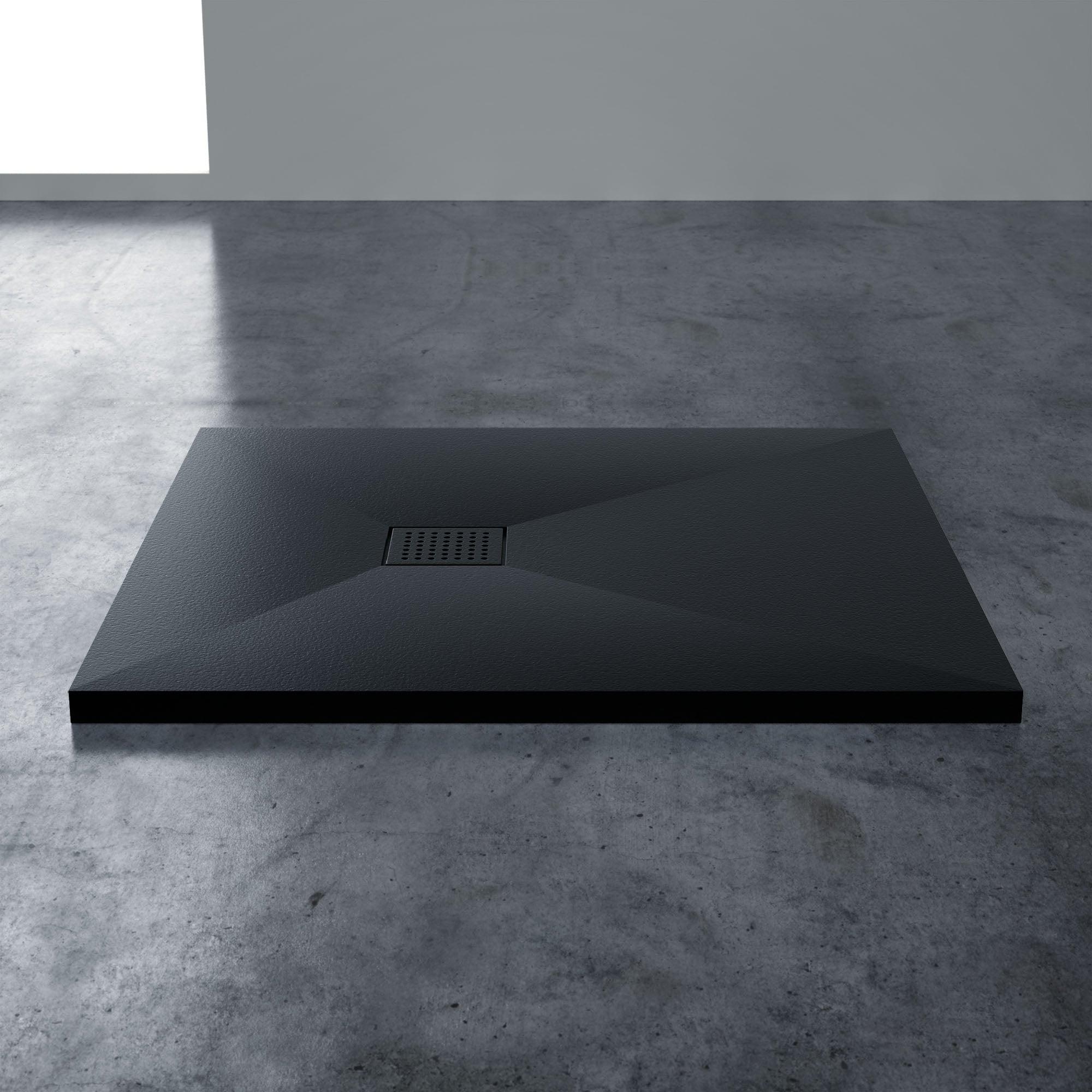 Luxury Matte Shower Tray | Matte Textured Shower Tray | Solid Stone