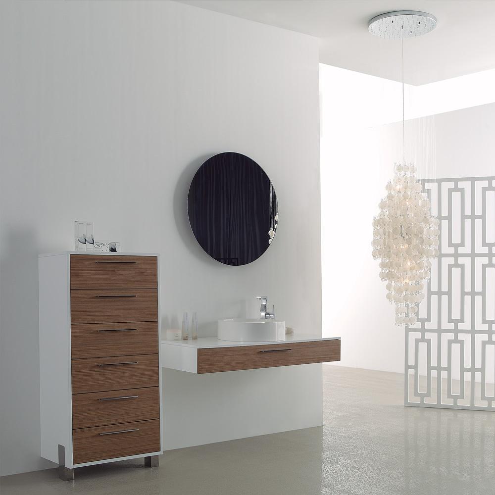 Lusso stone vogue large wall mounted designer bathroom - Designer vanity units for bathroom ...
