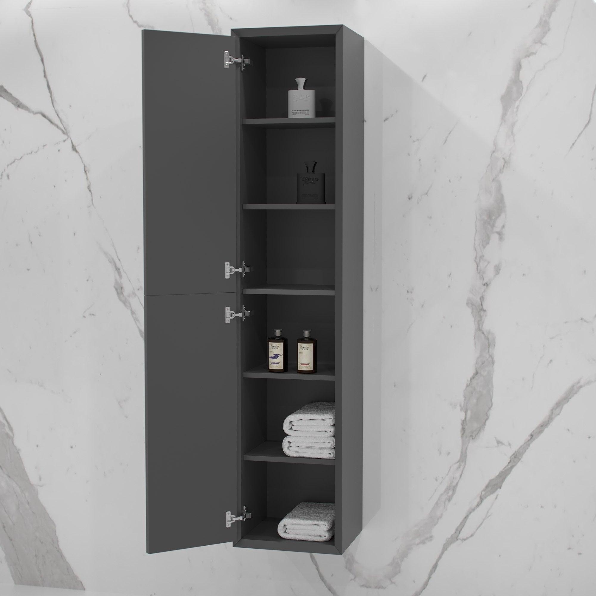Volini Bathroom Storage Cabinet Matte