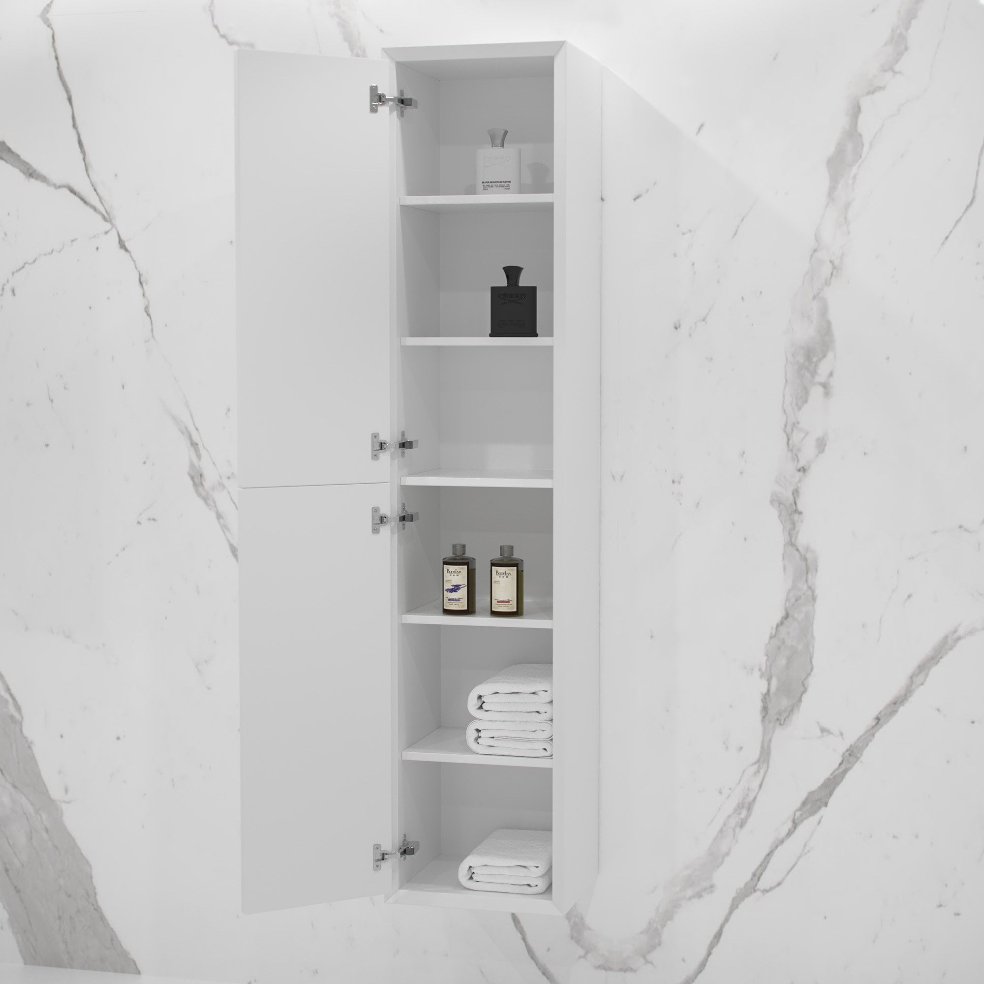 Volini Bathroom Storage Cabinet Matte
