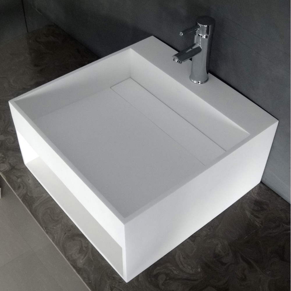 the ethos resin counter top basin