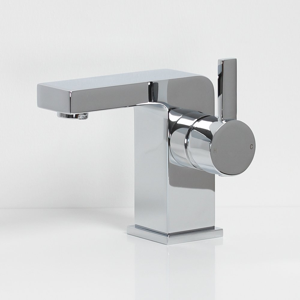 Tec Artisan Basin Mixer Tap With Side Lever Taps
