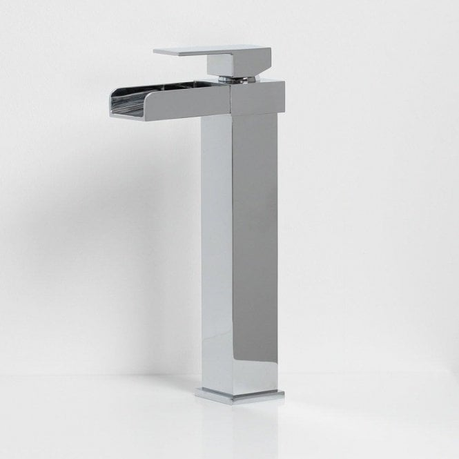 Tec Cascade Tall Basin Mixer Tap With Lever