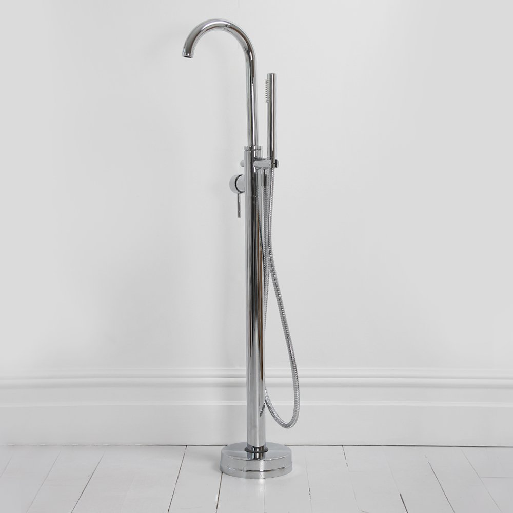 home taps bath taps tec series modern freestanding floor standing