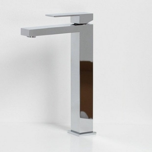 Tec Series Square Tall Square Mono Basin Mixer Tap